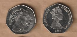 GIBRALTAR   50 Pence -  (Christmas) 2015  Copper-nickel • 8 G • ⌀ 27 Mm KM# 149 - Gibraltar
