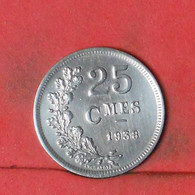 LUXEMBOURG 25 CENTS 1938 -      - (Nº41763) - Luxembourg