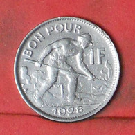 LUXEMBOURG 1 FRANC 1928 -    KM# 35 - (Nº41764) - Luxembourg