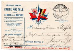 FRANCHISE MILITAIRE - CPFM - BELGIQUE - CORRESPONDANCE MILITAIRE - CARTE FM - 1915. - FM-Karten (Militärpost)