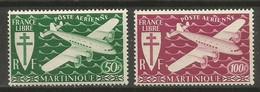 Timbre Colonie Française Martinique Neuf ** P-a N 4/5 - Airmail