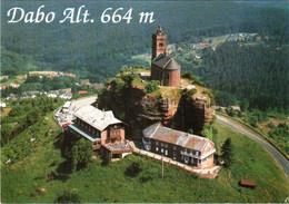 CPM 57 (Moselle) Dabo - Vue Aérienne Avec Le Rocher Et La Chapelle Saint-Léon TBE - Dabo