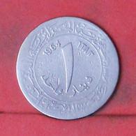 ALGERIA 1 DINAR 1964 -    KM# 100 - (Nº41776) - Algeria