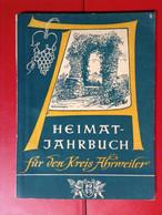 Heimatjahrbuch Kreis Ahrweiler 1955 Ahr - Calendars