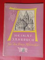 Heimatjahrbuch Kreis Ahrweiler 1960 Ahr - Calendars