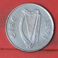 IRELAND 10 PENCES 1971 -    KM# 23 - (Nº41794) - Ireland