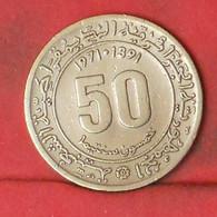 ALGERIA 50 CENTIMES 2371 -    KM# 102 - (Nº41799) - Algeria