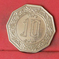 ALGERIA 10 DINARS 1979 -    KM# 110 - (Nº41800) - Algeria