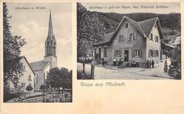 Mösbach - Mehrbild Gasthaus Z.gr.Baum 1913 - Other
