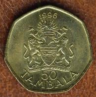 Malawi 50 Tambala 1996, KM#30, AUnc - Malawi