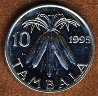 Malawi 10 Tambala 1995, KM#27, AUnc - Malawi