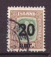 IJsland / Iceland / Island 106 Used (1921) - Gebraucht