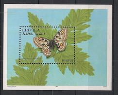 Eritrea - 1997 - Bloc Feuillet BF N° Yv. 3 - Papillons / Butterflies - Neuf Luxe ** / MNH / Postfrisch - Mariposas