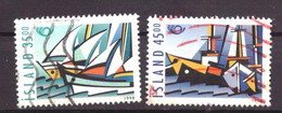 IJsland / Iceland / Island 884 & 885 Used (1998) - Gebraucht
