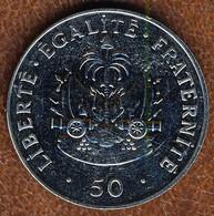 Haiti 50 Centimes 2011, KM#153a, Unc - Haiti