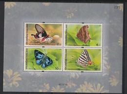 Thailand - 2001 - Bloc Feuillet BF N°Yv. 147A - Papillons / Butterflies - Neuf Luxe ** / MNH / Postfrisch - Mariposas