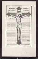 Huysse- 1837 -1916 -Sylvie Ruysschaert -  Image Pieuse - Images Religieuses