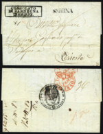 Ottoman Empire, 1840. Disinfection/Cholera Letter To Trieste. Superb. - ...-1861 Prephilately