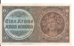 BOHEME ET MORAVIE 1 KRONEN ND1940 UNC P 3 - Other - Europe