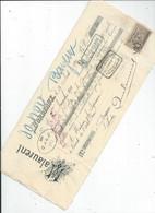 Cheque  ENVOYEE A LA MERE SUPERIEURE DE L'HOTEL DIEU DE BAYEUX  1901 - 1900 – 1949