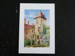 CARENNAC - DORDOGNE - AQUARELLE J.C. PAPEIX - Autres Communes