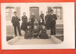 ZLK-16 UNIQUE Carte-Photo D'une Famille Des Breuleux. Vers 1900. Non Circulé - JU Jura