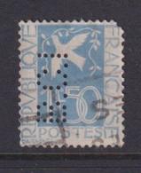Perforé/perfin/lochung France 1934 No 294 B.C.I Banca Commerciale Italiana (62) - Perforés