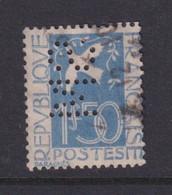 Perforé/perfin/lochung France 1934 No 294 SM (154) - Gezähnt (Perforiert/Gezähnt)