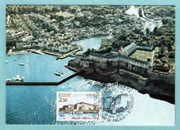 Carte Maximum 1984 - Citadelle Vauban, Belle Ile En Mer - YT 2325 - 56 Le Palais - 1980-89