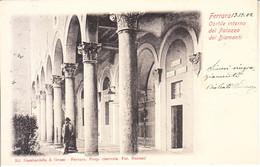 ITALIA - FERRARA - (non Comune) - Cortile Interno ....... Leggi Testo, Animata, Viag. 1902 - 2020-B-188,189 - Ferrara