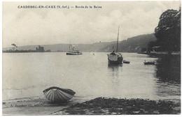 76 Caudebec En Caux. Bords De La Seine ( Rare Et Unique Sur Delcampe) - Caudebec-en-Caux