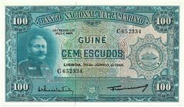 Guiné-Bissau - 100 Escudos - 30.06.1964 - P 41 - Unc. - Sign Varieties - João Teixeira Pinto - PORTUGAL - Guinea-Bissau