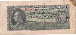 Ecuador 1 Sucre 1886-1894 Pk-s 172 Ref 4861-2 - Ecuador