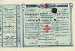 Titre Ancien - Société Serbe De La Croix Rouge  - Obligation à Lots De 1907 - Déco - S - V