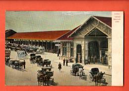 ZMF-35 Interlaken Bahnhofplatz. Kütsche.  Nicht Gelaufen Treukler 1905  144 - BE Berne