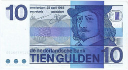 Países Bajos - Netherlands 10 Gulden 25-4-1968 Pk 91b Ref 3920-2 - 10 Gulden