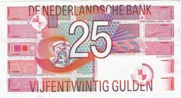 Países Bajos - Netherlands 25 Gulden 5-4-1989 Pk 100 Ref 4423-1 - 25 Gulden