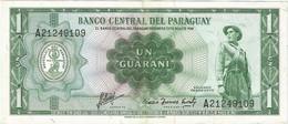 Paraguay 1 Guaraní 1952 Pk 139b Ref 2027-2 - Paraguay