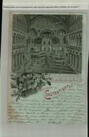 """TURQUIE  Souvenir De Constantinople Mosquée De Ste Sophie  Intérieur """"Edit Emile Pinkau """" ( Fevrier 2021 096) - Turchia"""