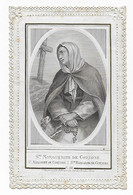 Canivet / Devotieprent / Image Pieuse, Ste Marguerite De Cortone - Santini