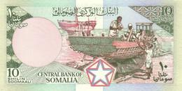 SOMALIA P. 32a 10 S 1983 UNC - Somalia