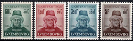 Luxembourg, Luxemburg 1946 CARITAS Jean L'Aveugle Série Neuf MNH** Val. Cat.5€ - Unused Stamps