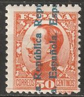 Spain 1931 Sc 485  MH* Marks On Gum - Ungebraucht