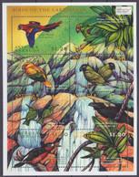 2000Antigua And Barbuda3068-3075KLBirds9,50 € - Sperlingsvögel & Singvögel