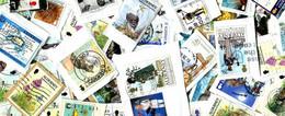 Alderney MissionBag 500g (1LB-1½oz) KILOWARE - Lots & Kiloware (mixtures) - Min. 1000 Stamps