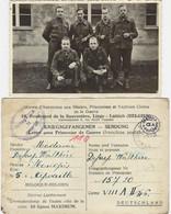 ARMEE BELGE : Groupe De Soldats Prisonniers Au Stalag VIII A - War 1939-45