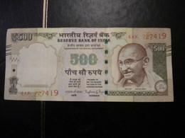BILLET 500 RUPEES  NEUF** VOIR SCAN - India