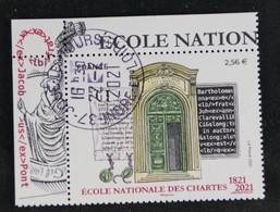 France 2021 Ecole Nationale Des Chartes.- Oblitéré - Used Stamps