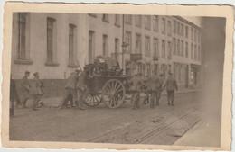 Tirlemont- Carte Photo -Evacuation De La Belgique Par Les Boches 1918   (E.2963) - Tienen