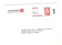 Lot 1 De 10 PAP Marianne YZ Yseult Entiers Postaux Neufs Institut 184210 193325 204377 Curie ARC Secours Catholique... - Prêts-à-poster:reply